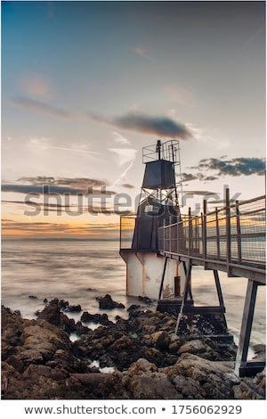 Battery Point Lighthouse, Portishead, Great Britain.  Stock photo © CaptureLight