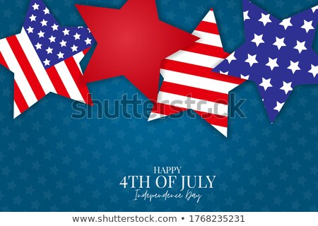 4th of july independence day flyer Stock photo © SArts
