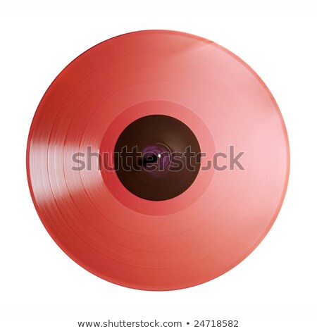 Bright red record  Stock photo © 350jb