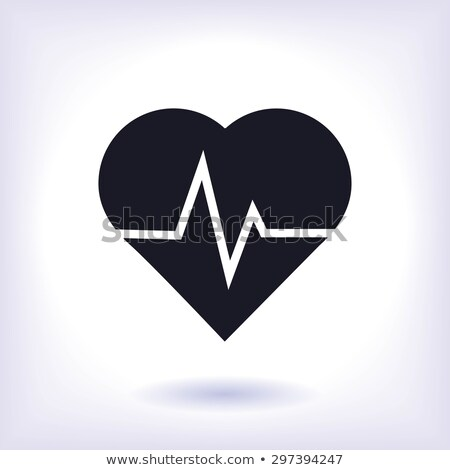 Heartbeat icon concept. Stock photo © Olena