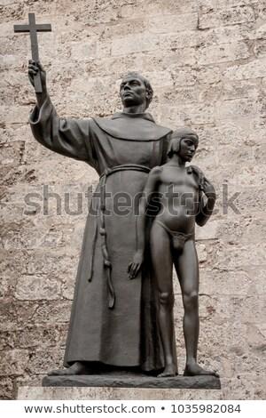 Estatua cruz La Habana Cuba nino Foto stock © Hofmeester