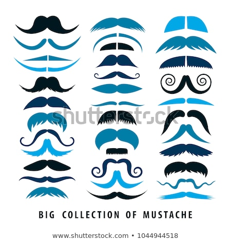 Mustache Big Collection Stock photo © adamson
