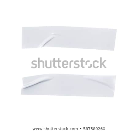 insulating tape isolated on a white Stock photo © serg64