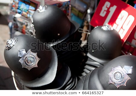 Jouet police casques vente Londres magasin Photo stock © IS2