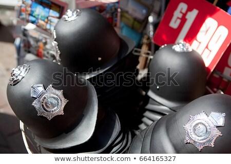 Brinquedo polícia capacetes venda Londres compras Foto stock © IS2
