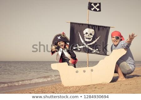 Pirate and Children Fun Trip Stock photo © bluering