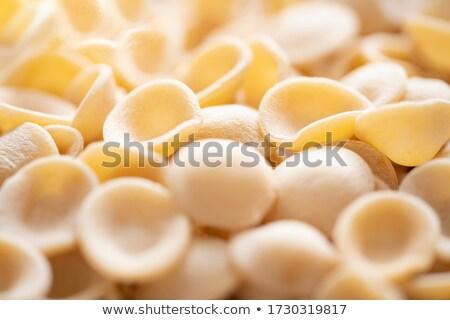 raw uncooked italian orecchiette pasta blur defocused Stock photo © zkruger