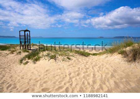 Strand galicië hemel landschap achtergrond zomer Stockfoto © lunamarina