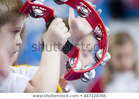 cute · weinig · jongen · kind · spelen · muziek - stockfoto © colematt