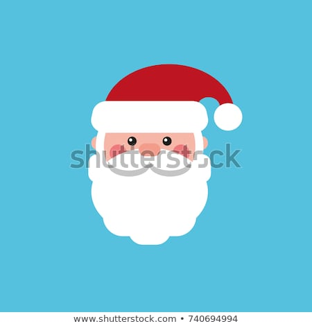 Wintertime Vector Greeting Cards with Father Frost Stock photo © robuart
