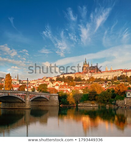 Prague in autumn Stock photo © Givaga