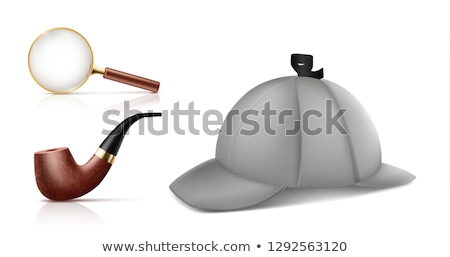 vector set of smoking pipe stock photo © olllikeballoon
