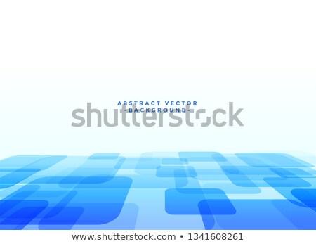 Abstrato techno azul negócio tecnologia fundo Foto stock © SArts