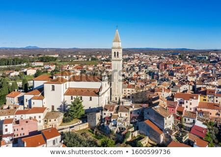 città · torre · verde · panorama · view · regione - foto d'archivio © xbrchx