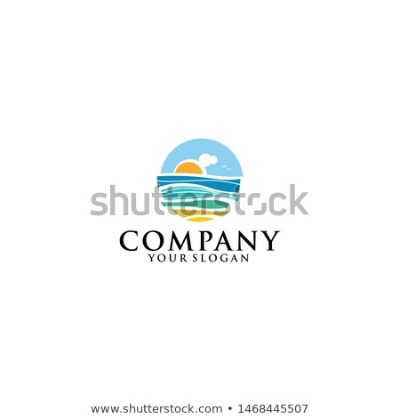 Water Design Elements. Sea wave icon, ocean symbol design. Vector Stock photo © Andrei_