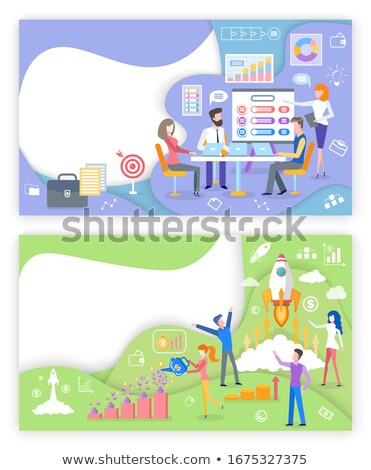 Create Proposal, Tools to Grow Business Web Pages Stock photo © robuart