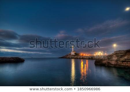 deniz · feneri · liman · Bina · doğa · okyanus · seyahat - stok fotoğraf © lunamarina