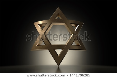 Star Of David Casting Stock photo © albund