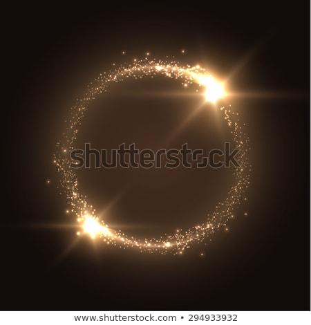 Fényes neon fény kitörés stílus absztrakt Stock fotó © SArts