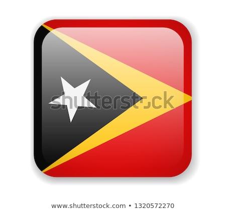 east timor flag, vector illustration on a white background Stock photo © butenkow