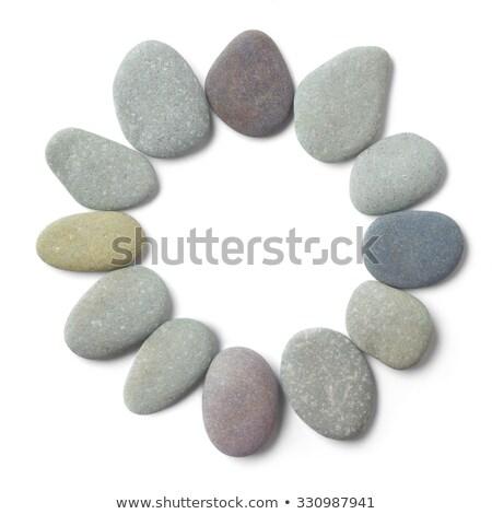 Daire 12 fengshui meditasyon oniki Stok fotoğraf © fenton