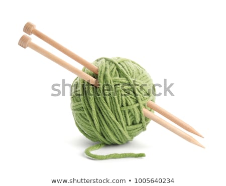 yarn and knitting needles stock photo © leeser