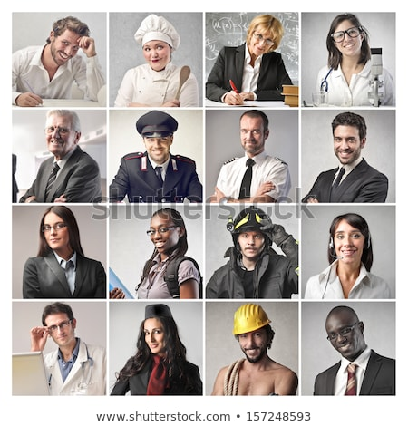 Mosaic of different occupations Stock photo © photography33