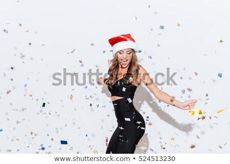 femme · danse · portrait · belle · sexy · girl - photo stock © feedough