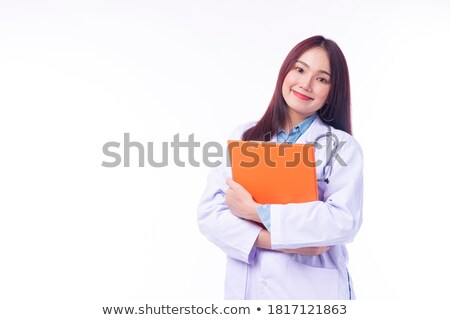 young intern with clipboard Stock photo © photography33