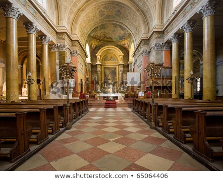Splendid church interior Stock photo © RuslanOmega