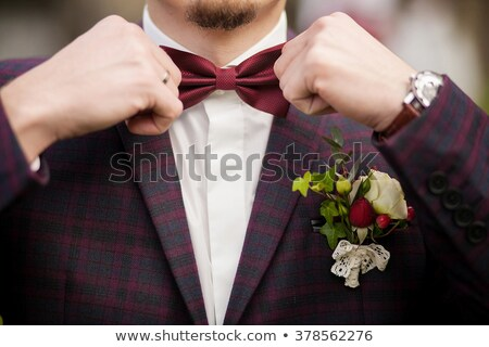 Collar Dress Shirt In Purple Color Tones Stock photo © experimental