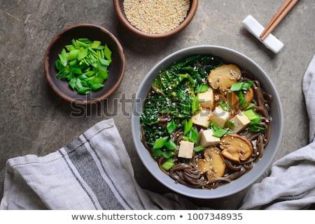 суп Тофу продовольствие обеда китайский Сток-фото © M-studio