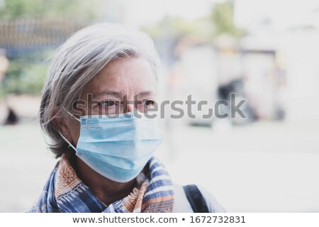 elderly woman with medicine stock photo © photography33