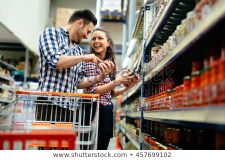 young couple choosing fruit stock photo © photography33