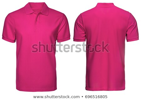 Rosa polo diseno arte tienda camisa Foto stock © ozaiachin