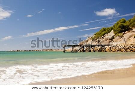 Patkó Dél-Ausztrália gyönyörű turisztikai attrakció győztes kikötő Stock fotó © THP