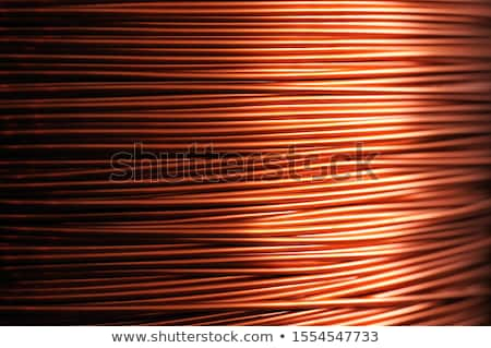 Electrician with coil of wiring Stock photo © photography33