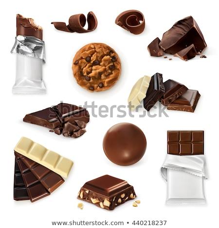 Saboroso bolinhos chocolate comida Foto stock © wavebreak_media