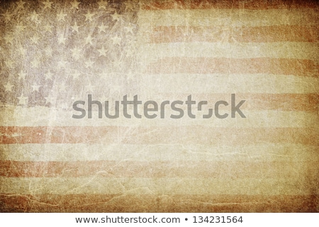 Grunge American Flag Background Perfect For Text Placing Foto stock © pashabo