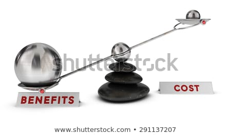 Costs Benefits Stock photo © ivelin