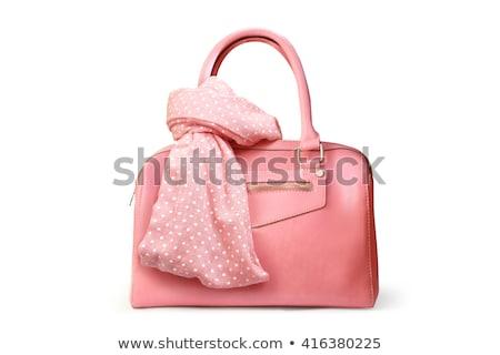 womens elegant pink handbag clutch stock photo © evgenyatamanenko