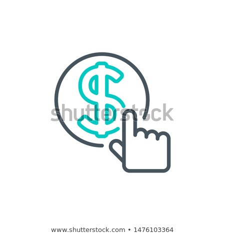 Deposit Button with Hand Cursor. Stock photo © tashatuvango