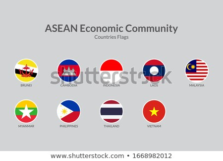 national colours of brunei stock photo © perysty
