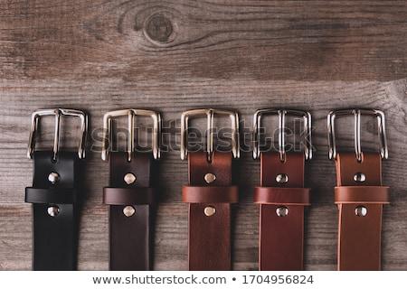 Leather belt Stock photo © BigKnell