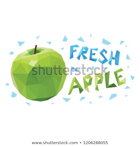 vruchten · vector · ingesteld · illustratie · ontwerp · voedsel - stockfoto © sgursozlu
