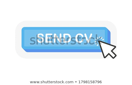 Küld gomb háló kék e-mail szimbólum Stock fotó © burakowski