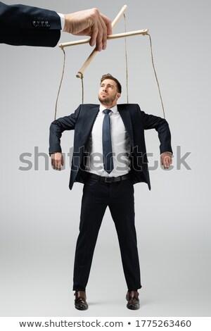бизнесмен контроль бизнеса человека работу Сток-фото © adam121