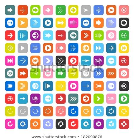 набор · 100 · иконки · веб · интерфейс · бизнеса - Сток-фото © yellomello