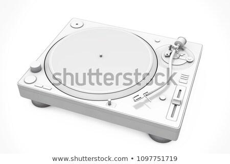 3d dj mixer equipment  Stock photo © Elisanth