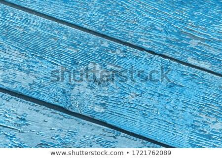 Emerald gekleurd houten textuur muur tabel Stockfoto © Melpomene